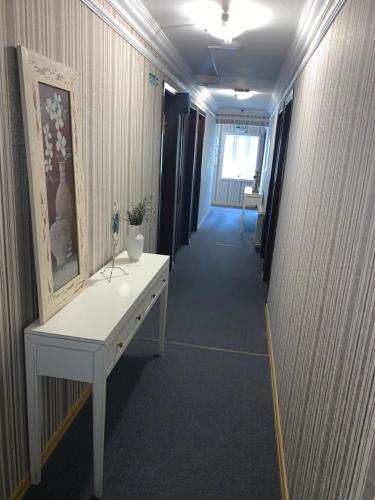 A bathroom at Petit Hotel Provence Gramado