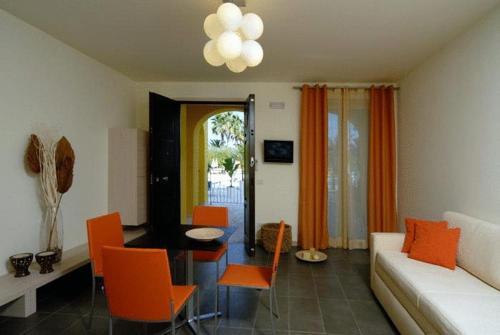 Гостиная зона в Hotel Parco Dei Principi