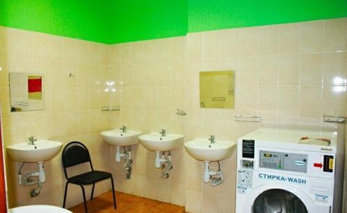 A bathroom at HotelHot Firsanovka