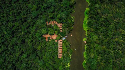 Amazon Muyuna Lodge - All Inclusive a vista de pájaro