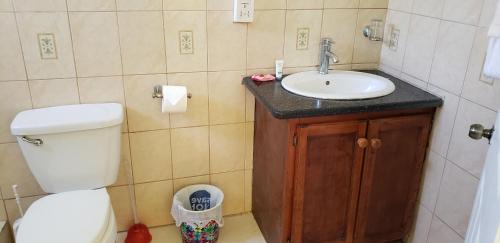 A bathroom at Unit 2 Private Apartment - Roseau