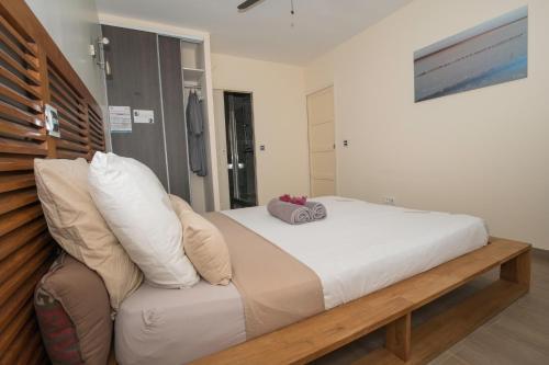 Un ou plusieurs lits dans un hébergement de l'établissement LA KAZ TIROUGET