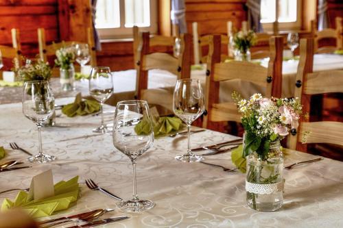 Restaurace v ubytování Pension Roubenka