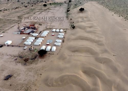 A bird's-eye view of Pal Rajah Resort