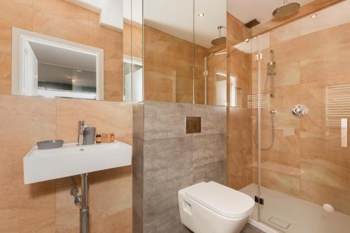 Łazienka w obiekcie Jantar Apartamenty Sea View
