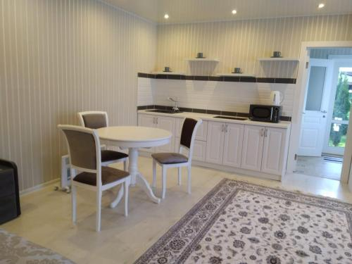 A kitchen or kitchenette at Holiday Home in Vnukovo