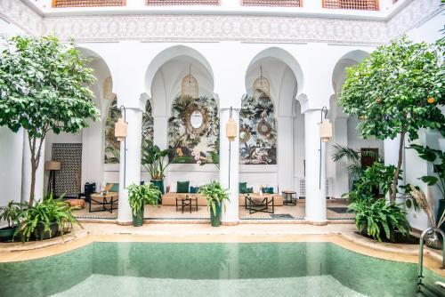 Piscina en o cerca de Riad Palais Calipau