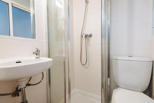 Un baño de Apartamento En El Centro