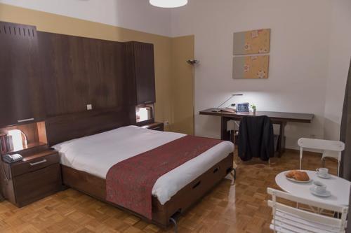 Cama o camas de una habitación en Key Inn Appart Hotel Belair