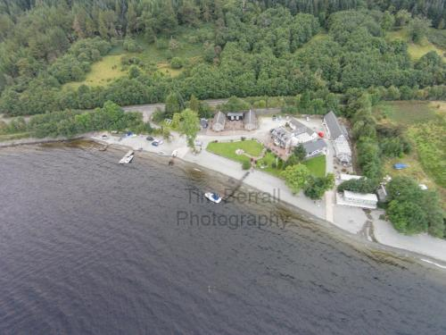 A bird's-eye view of Culag Lochside Guesthouse