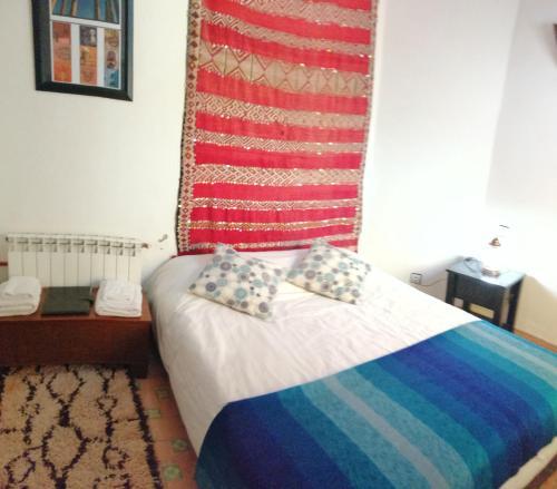Un ou plusieurs lits dans un hébergement de l'établissement Dar Ines
