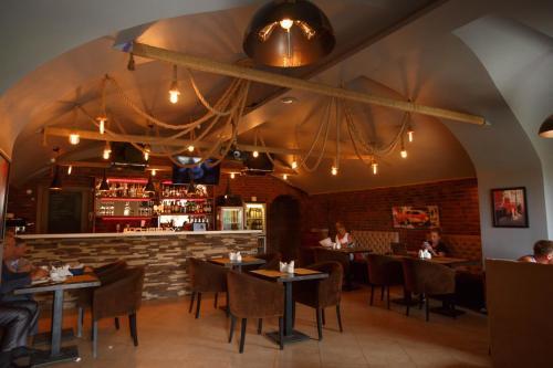 Лаундж или бар в BELLHOTEL