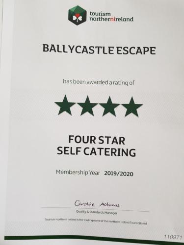 Beachfront Ballycastle Escape