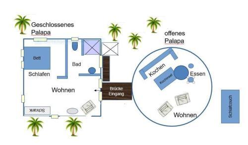 A planta de Don Genaro Curacao Appartements Palapino