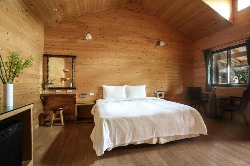 悠森境渡假村房間的床