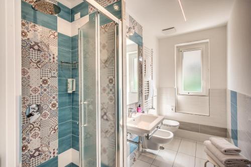 A bathroom at Hotel Florida