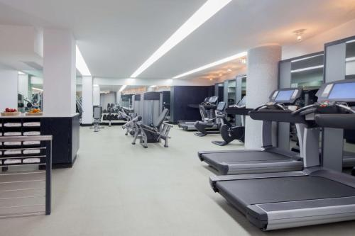 The fitness center and/or fitness facilities at Hyatt Union Square New York
