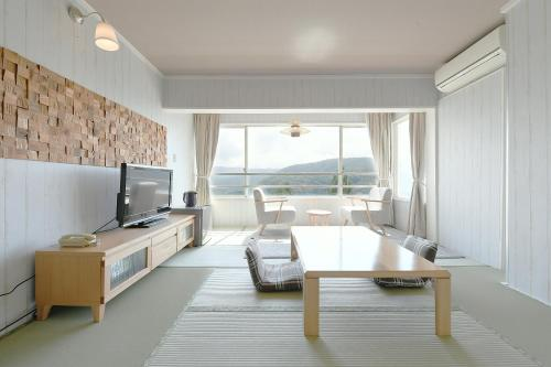 A seating area at Hotel Ra Kuun
