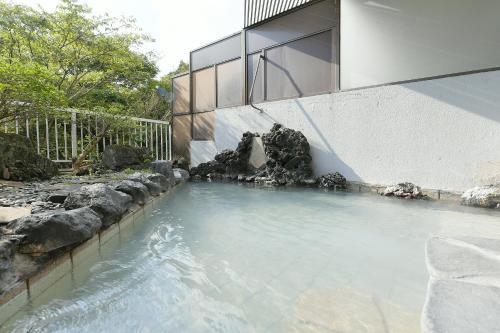 The swimming pool at or near Hotel Ra Kuun