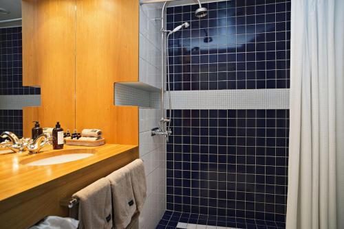 Ett badrum på Hotel no. 16