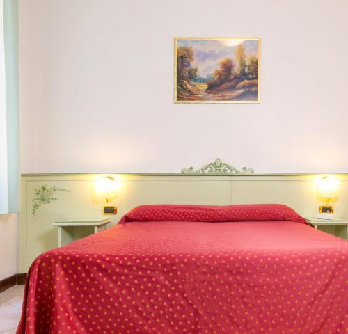 Cama ou camas em um quarto em Guesthouse Ca' San Marcuola 1