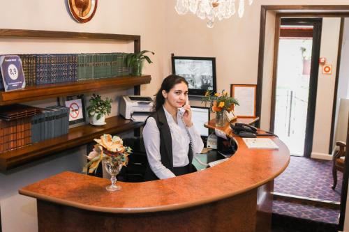 Лобби или стойка регистрации в Гостиница Параисо