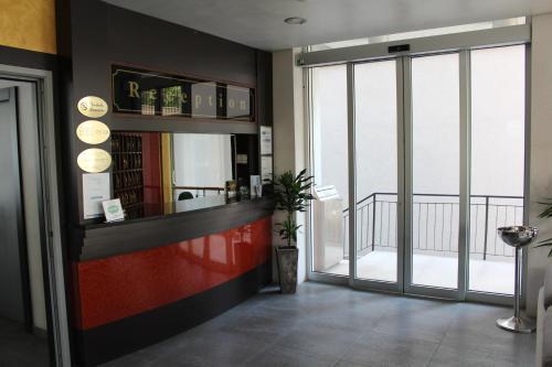 Vstupní hala nebo recepce v ubytování Hotel Panorama