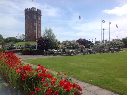 A garden outside Towers Hotel & Spa