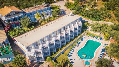 A bird's-eye view of Callinica Hotel