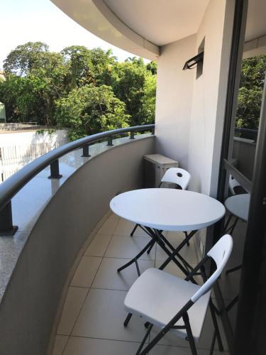 A balcony or terrace at Boulevard Residencial