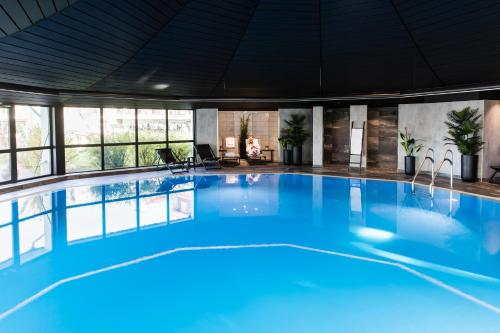 The swimming pool at or near Klækken Hotel