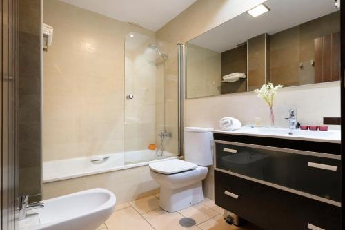 Ванная комната в Los Castillarejos Apartamentos Rurales
