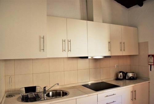 A cozinha ou kitchenette de Aldeia do Lago