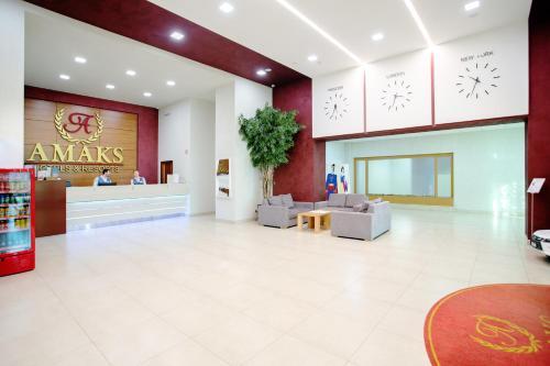 The lobby or reception area at AMAKS Krasnaya Pakhra Resort