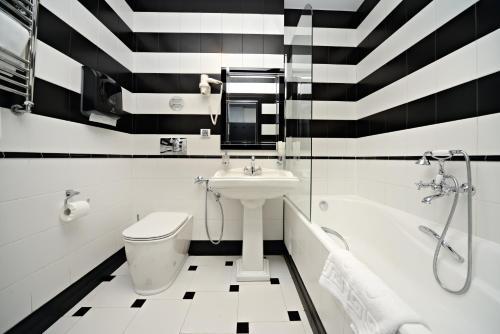 Ванная комната в Дизайн Отель Софит