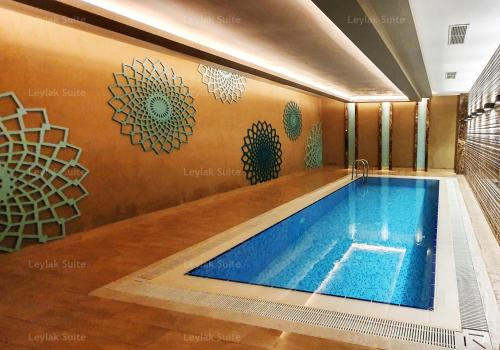 The swimming pool at or close to Taksim leylak suite
