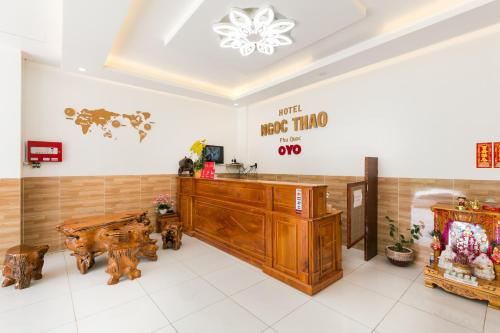 The lobby or reception area at OYO 509 Ngoc Thao Phu Quoc Hotel