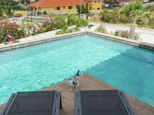 A piscina localizada em Beautiful Villa In Jan ThieL Near The Beach ou nos arredores