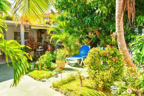 Jardín al aire libre en Hostal Ignacio&Jenni