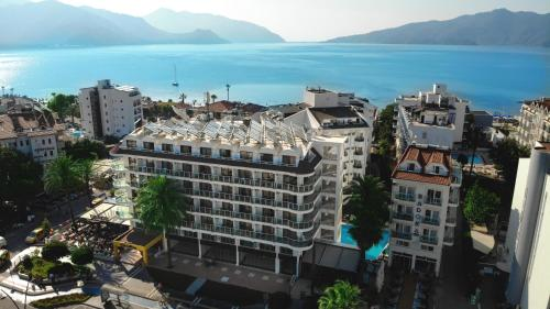 CihanTürk Hotel с высоты птичьего полета