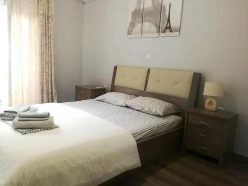 Postel nebo postele na pokoji v ubytování 15 minutes from city center !