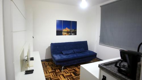 A seating area at Apt central , 1 dormitório para até 6 pessoas