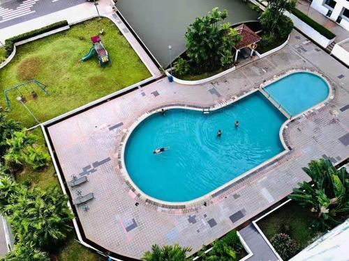 A view of the pool at Likas Square by CozyCottage x Merveille @ Kota Kinabalu ,Sabah or nearby