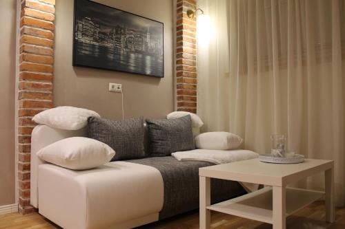 Istumisnurk majutusasutuses V&T Roo Apartment