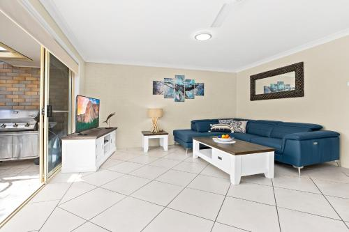 A seating area at Blue Haze 3 - Sawtell, NSW