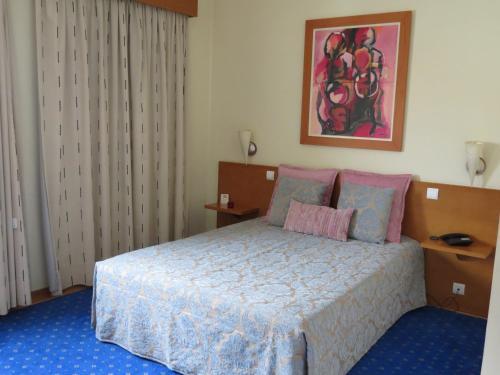 Un ou plusieurs lits dans un hébergement de l'établissement Dom Jorge de Lencastre