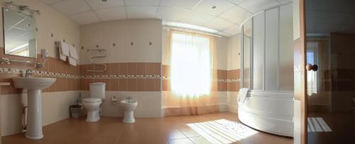 Ванная комната в Отель Первоуральск