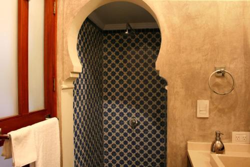 Ein Badezimmer in der Unterkunft San Rafael Hotel