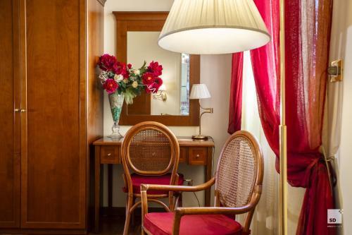 Area soggiorno di Hotel Alessandro Della Spina