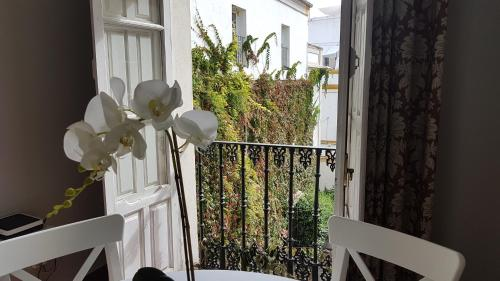 A balcony or terrace at Vidrio 36